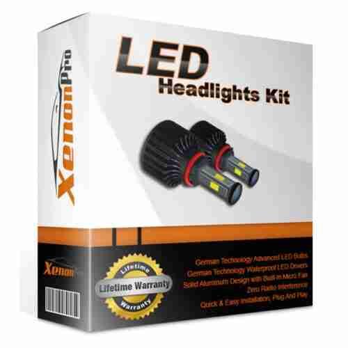 8th G CREE LED HEADLIGHT Conversion Kit 9005//H10 Fan Inside 40W SAFE 360°