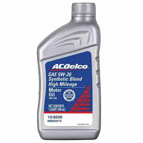 ACDelco Professional High Mileage 5W 20