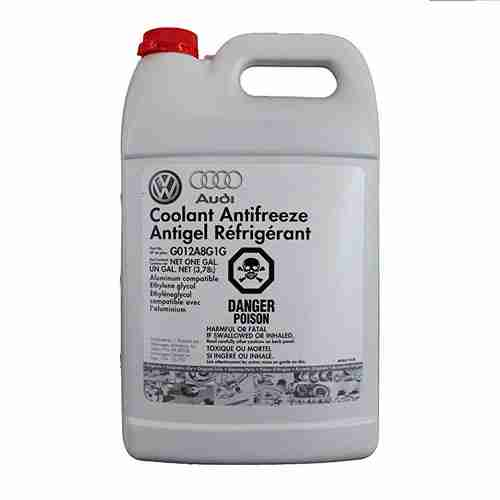 Audi Coolant Antifreeze Antigel Refrigerant