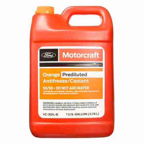 Ford Genuine Fluid VC 3DIL B Orange Pre Diluted Antifreeze