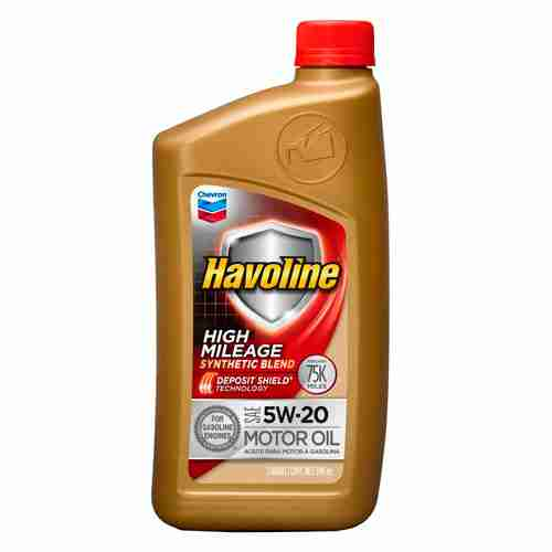 Havoline 5W20 High Mileage Synthetic Blend