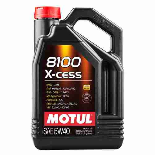 Motul 8100 X cess 5W 40 Synthetic Gasoline and Diesel Engine Oil 1