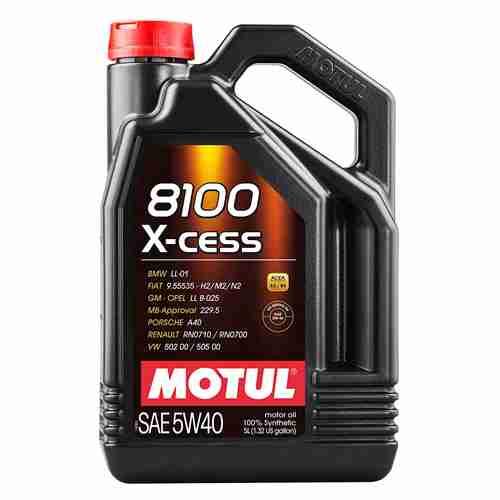 Motul Synthetic Engine Oil 8100 X Cess 5W40
