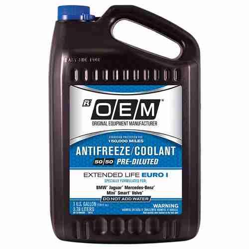 OEM Premium Antifreeze 50 50 Extended Life Euro I