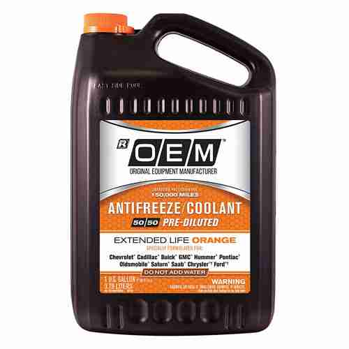 OEM Premium Antifreeze 50 50 Extended Life
