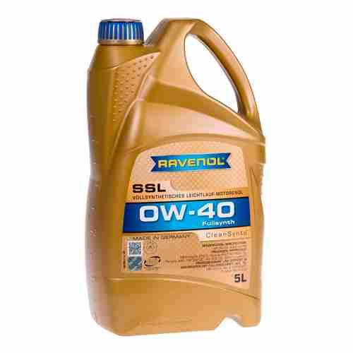 RAVENOL SSL Fully Synthetic Motor Oil 0W 40