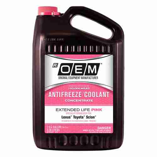 Recochem OEM Pink Premium Antifreeze Concentrate Extended Life