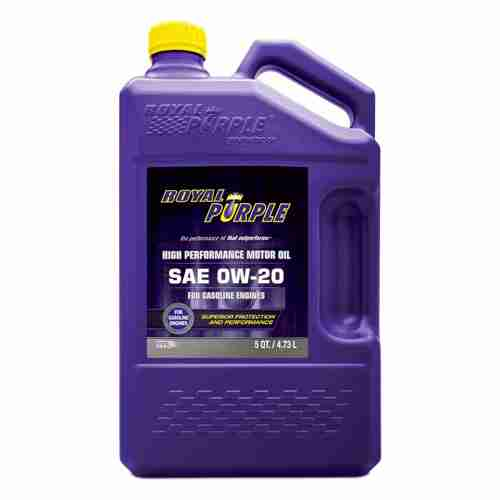 Royal Purple SAE 0W 20 High Performance Synthetic Motor Oil