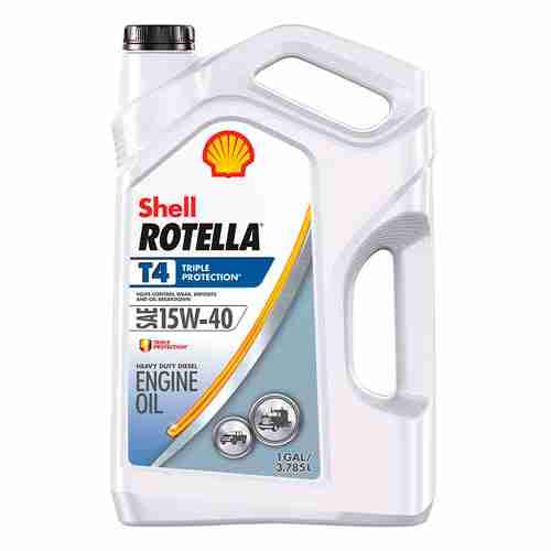 Shell Rotella T4 Triple Protection Conventional 15W 40 Diesel Engine Oil
