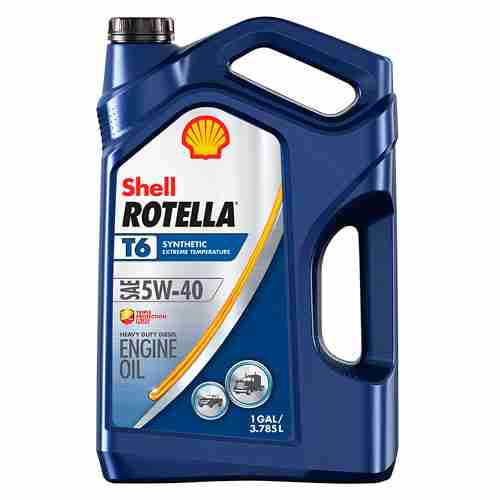 Shell Rotella T6 Full Synthetic 5W 40 Diesel Engine Oil