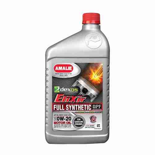 Amalie Elixir Full Synthetic dexos1 0W 20