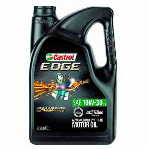 Castrol EDGE Advanced Full Synthetic Motor Oil 10W 30