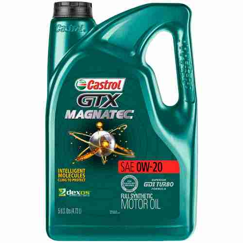 Castrol GTX MAGNATEC Full Synthetic Motor Oil 0W 20 1