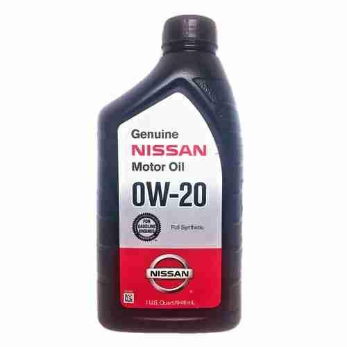 Genuine Nissan Synthetic Motor Oil 0W 20