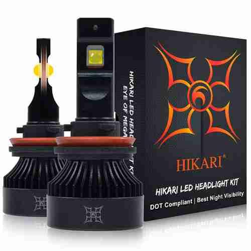 HIKARI 2020 H11 H8 H9 LED Headlight Bulbs