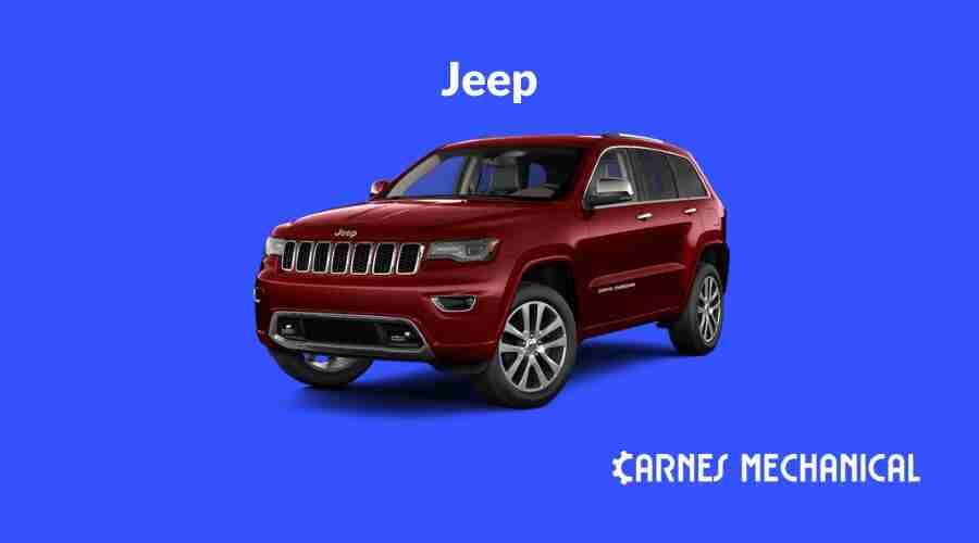 Jeep motor oil