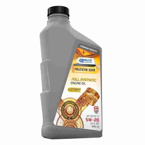 Milesyn Full Synthetic Motor Oil SXR API GF 5 SN Plus 5W20