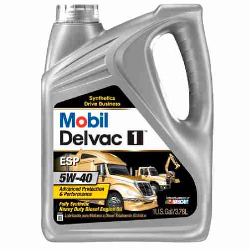 Mobil Delvac 1 ESP Motor Oil 5W 40
