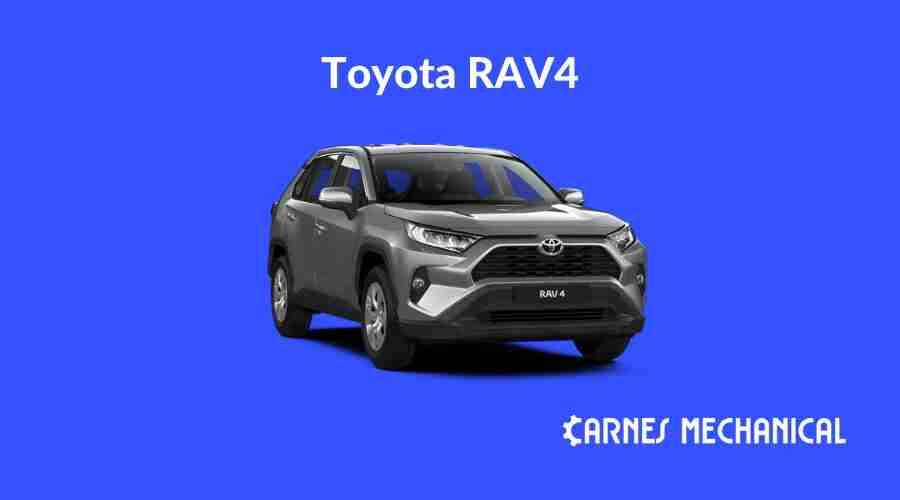 Motor oil for Toyota RAV4