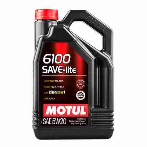 Motul 6100 Save Lite Motor Oil SAE 5W 20