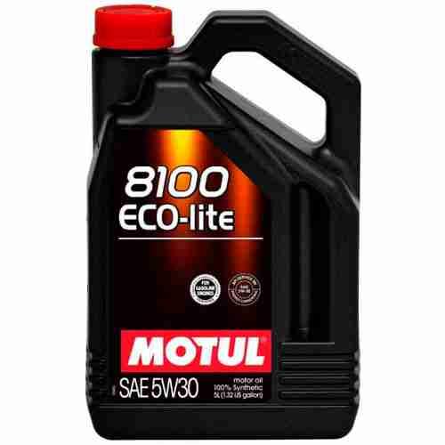 Motul 8100 Eco Lite Motor Oil SAE 5W 30