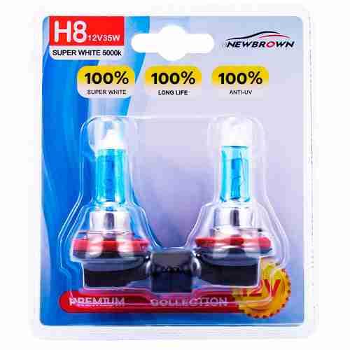 NEWBROWN H8 Halogen Headlight Bulb fog light