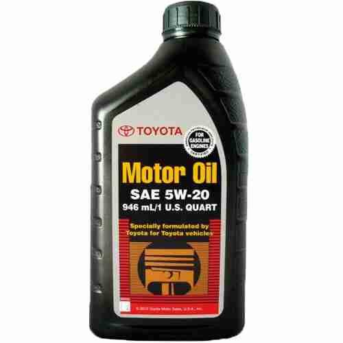 Original Toyota Motor Oil SAE 5W 20
