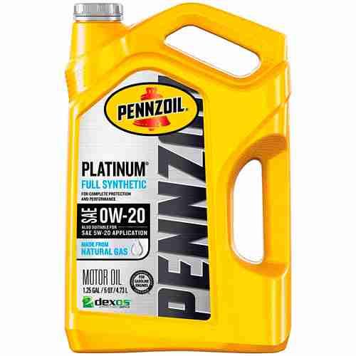 Pennzoil Platinum Full Synthetic Motor Oil 0W 20 1