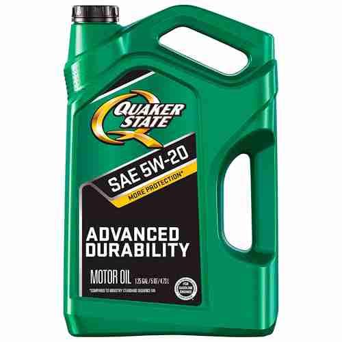 Quaker State Advanced Durability Motor Oil 5W 20