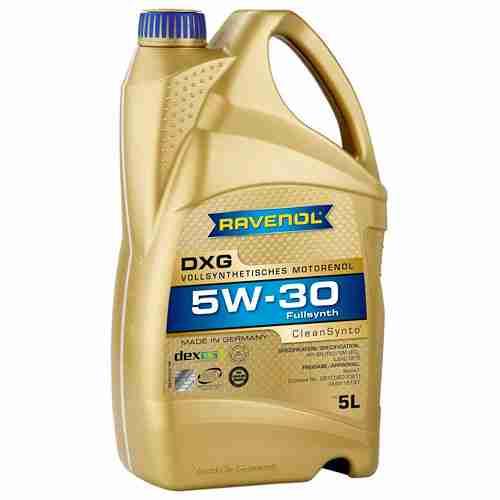 Ravenol DXG Fully Synthetic Motor Oil 5W 30