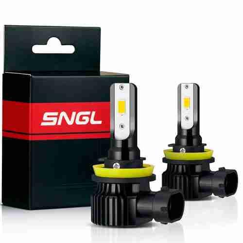 SNGL H8 LED Fog Light Bulb Yellow