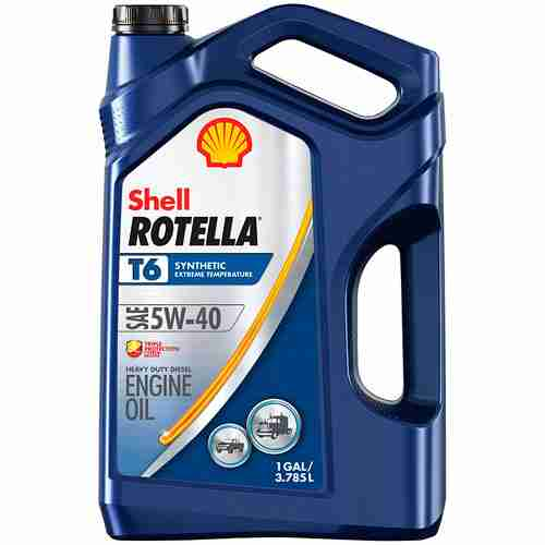 Shell Rotella T6 Full Synthetic Diesel Engine Oil 5W 40