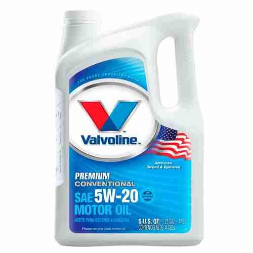 Valvoline Premium Conventional Motor Oil 5W 20