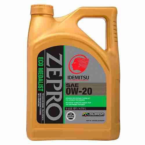ZEPRO Eco Medalist Advanced Moly Engine Oil 0W 20