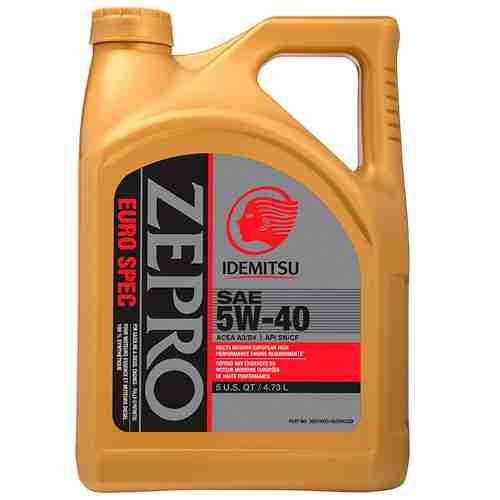 ZEPRO Euro Formula Engine Oil 5W 40