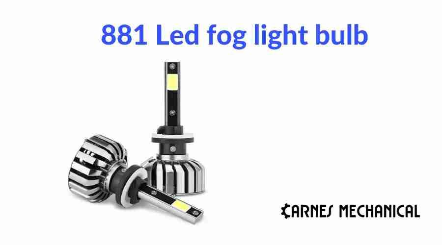 881 Led fog light bulb