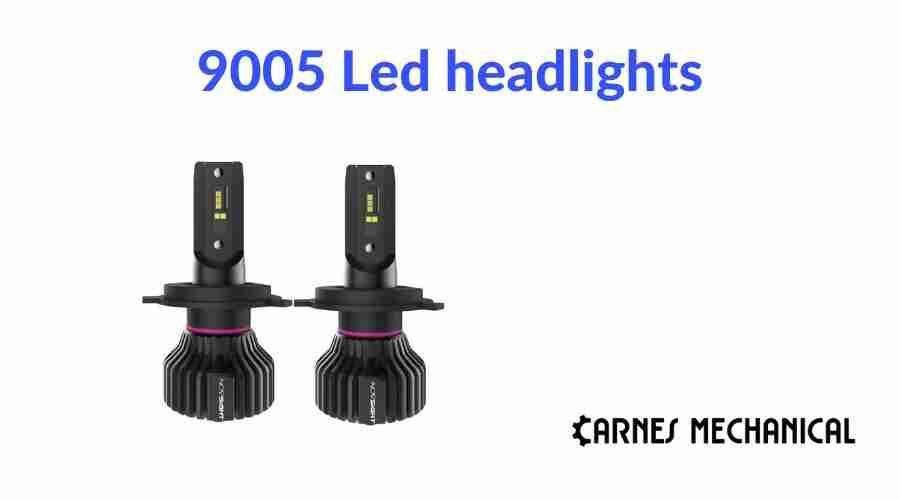 9005 Led headlights 1