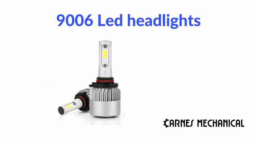 9006 Led headlights