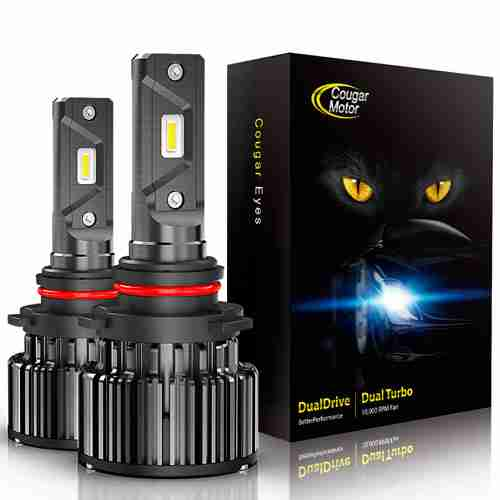 CougarMotor LED Headlight Bulbs 9006