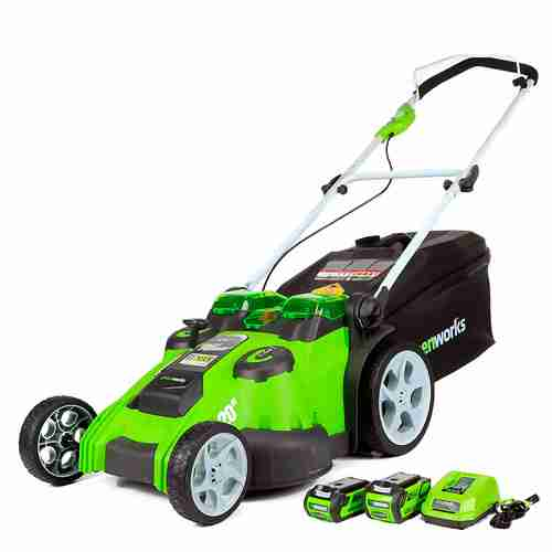 Greenworks 20 Inch Twin Force Cordless Lawn Mower