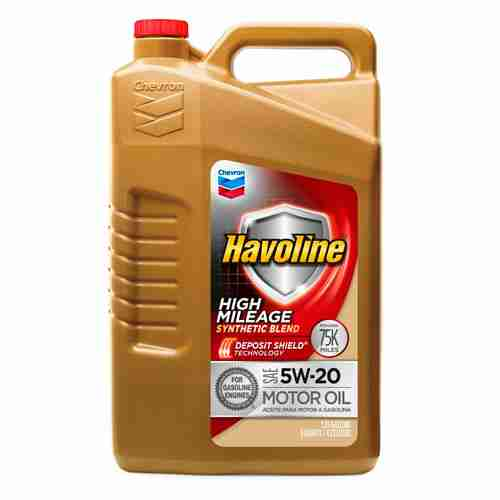 Havoline High Mileage Synthetic Blend 5W20