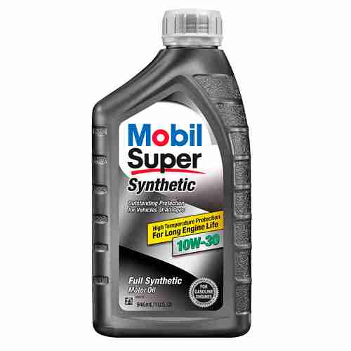 Mobil Super Synthetic Motor Oil 10W 30