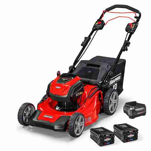 Snapper XD 82V Cordless 21 Inch Self Propelled Lawnmower