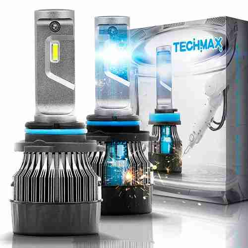 TECHMAX Mini 9006 LED Headlight Bulbs