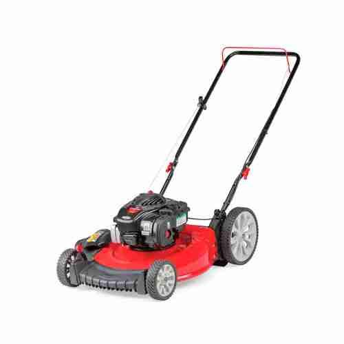 The Troy Bilt TB105 Walk Behind Lawn Mower