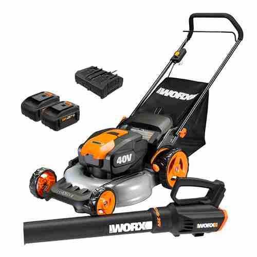 WORX WG960 20 inch Cordless Lawn Mower