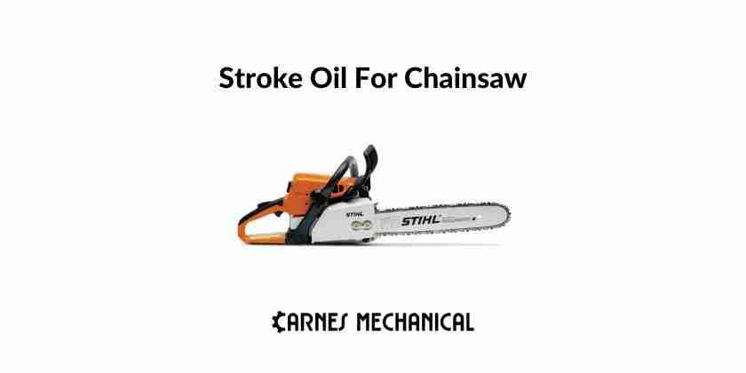 best oil chainsaw