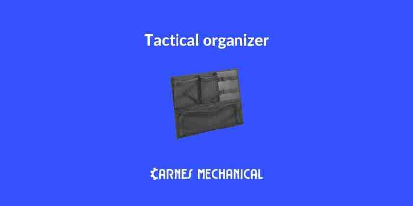 Best tactical organizer