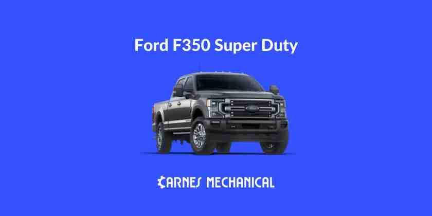 Ford F350 super duty