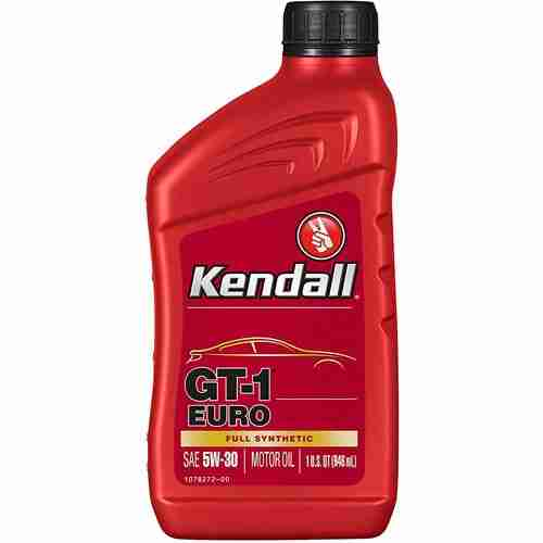 Kendall GT 1 Euro Full Synthetic Oil SAE 5W 30